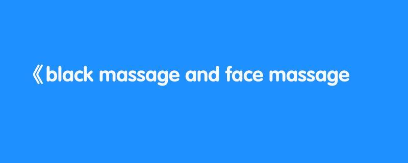 black massage and face massage  💈 traditional italian barber  💈 asmr no talking