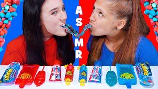[ASMR Lilibu]吃播棒棒糖和冰淇淋等